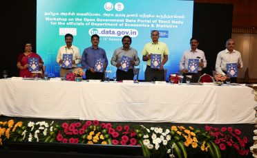 Workshop on OGD Portal of Tamil Nadu